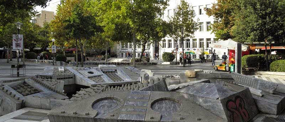 Taxudromeiou Square